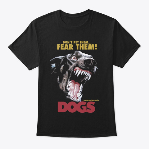 Fear Them Black T-Shirt Front