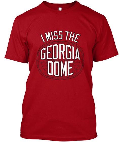 I Miss The Georgia Oome Deep Red T-Shirt Front