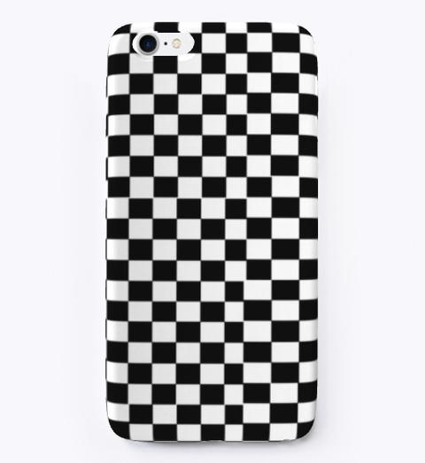 Checkered Flag Designer Phone Cases Standard T-Shirt Front