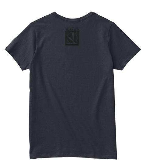 Circts Arts Navy T-Shirt Back