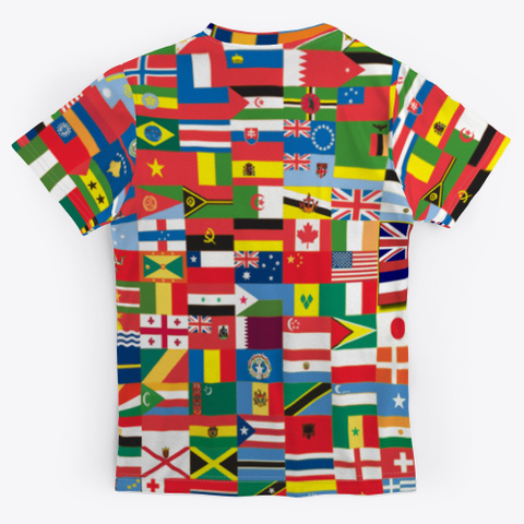 #Mana Wahine International Women's Day Standard T-Shirt Back