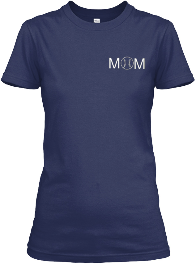 Softball-Mom-Raise-Mine-Some-Women-Only-Dream-Of-Gildan-Women-039-s-Tee-T-Shirt thumbnail 8