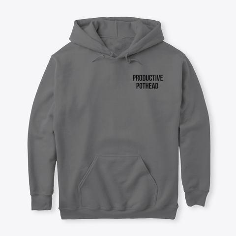 Productivepothead Apparel  Dark Heather T-Shirt Front