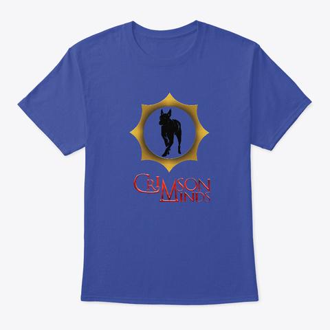 Crimson Minds Cover Art Deep Royal T-Shirt Front