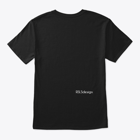Someone With Autism Makes Me Happy Black T-Shirt Back