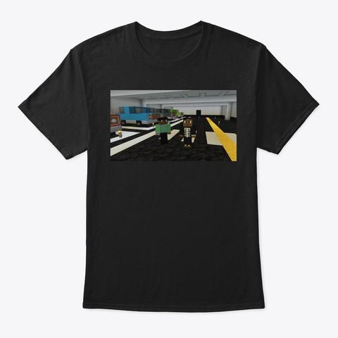 Cancun  Black T-Shirt Front