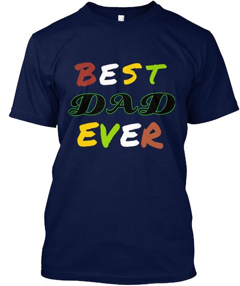 S B E T D D A R E E V Navy T-Shirt Front