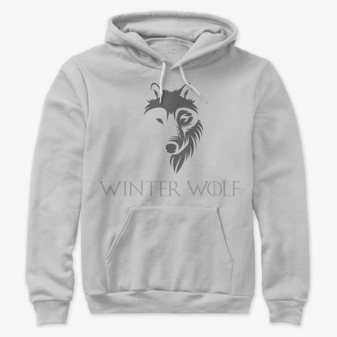Winter Wolf Athletic Heather T-Shirt Front