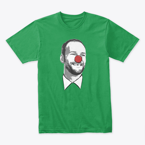 Chesa The Clown Kelly Green T-Shirt Front