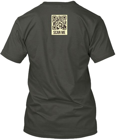 Scan Me Smoke Gray T-Shirt Back