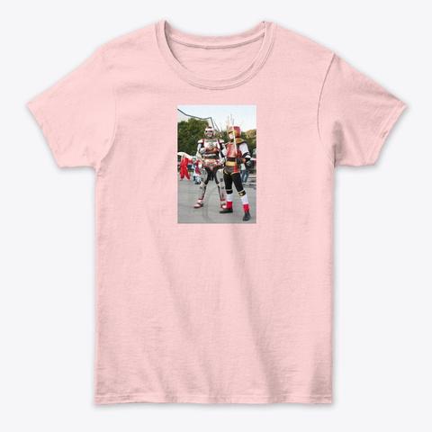 Camisa Jaspin Vs Jiraya Light Pink T-Shirt Front