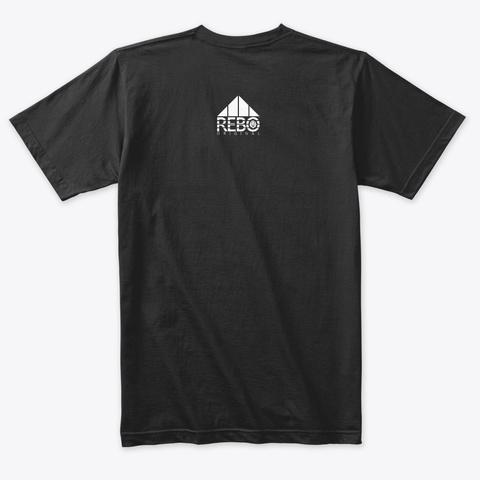 Rebo I T Shirt Vintage Black T-Shirt Back