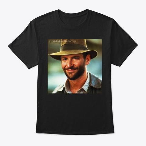Bradley Jones Black T-Shirt Front