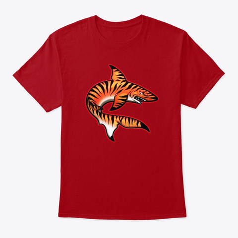Official Tigersharkv18 Slashers Shirt Deep Red T-Shirt Front