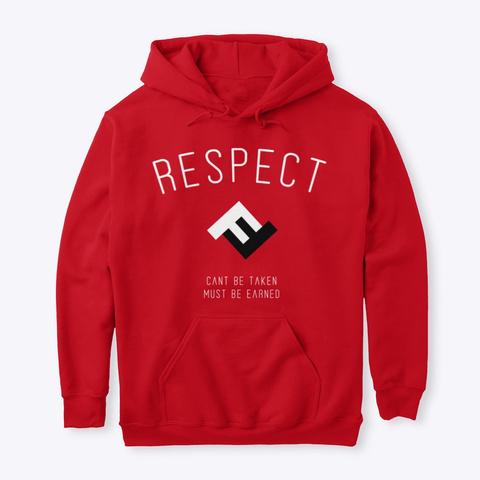 2019   Respect Gear Red T-Shirt Front