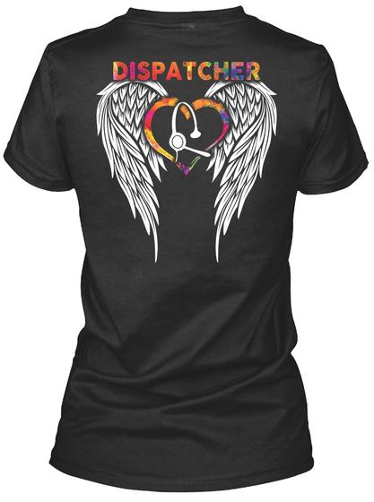 Dispatcher Black T-Shirt Back