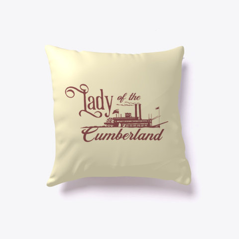 Official Lady Of The Cumberland Pillow Light Yellow T-Shirt Front