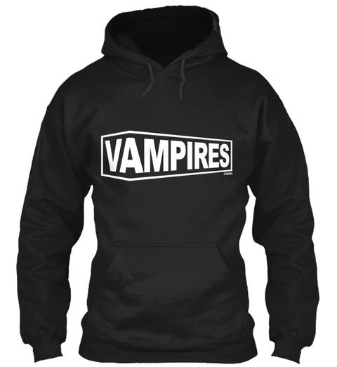 Vampires Black Felpa Front
