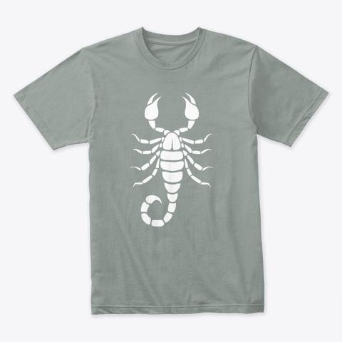 Scorpion Warm Grey T-Shirt Front