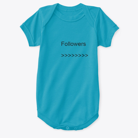 Free Tik Tok Followers Generator Turquoise T-Shirt Front