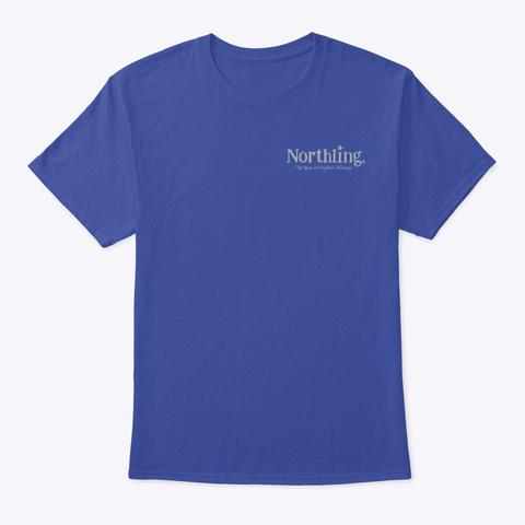 Northling™ Camping Buck Style 2 (Ob/Mp) Deep Royal T-Shirt Front