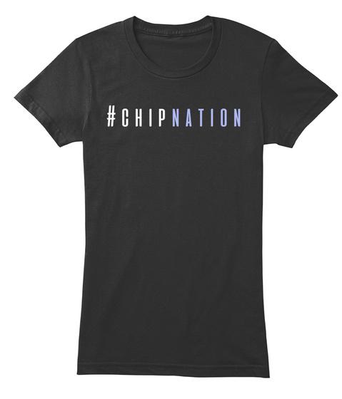 Chipnation Black T-Shirt Front