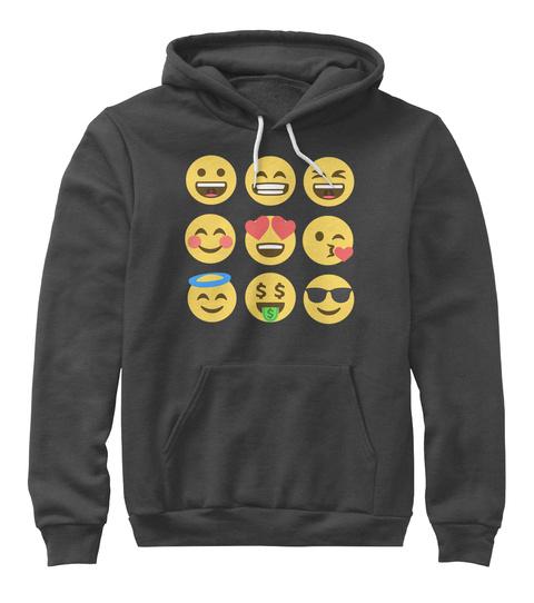 $ Dark Grey Heather T-Shirt Front