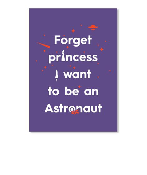 Forget Princess 3 Sticker [Usa] #Sfsf Purple Pegatina Front