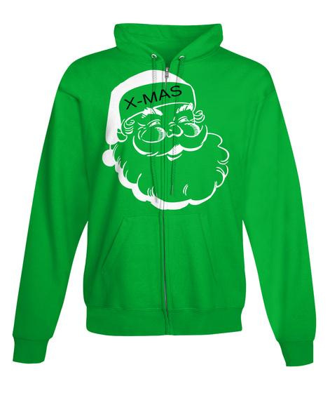 X Mas Kelly Green T-Shirt Front