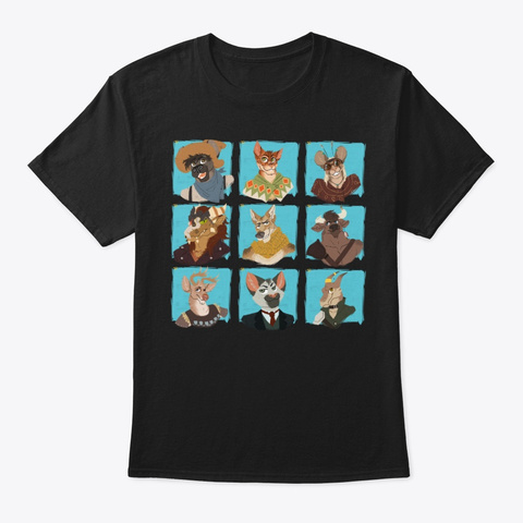 Idt Crew Cubes Black T-Shirt Front