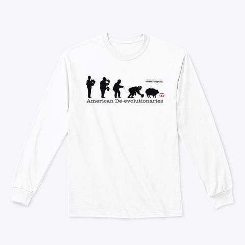 American De Evolutionaries White T-Shirt Front