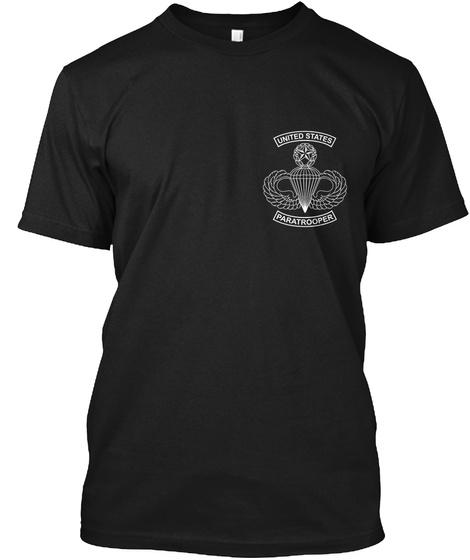 All American Brotherhood Black T-Shirt Front