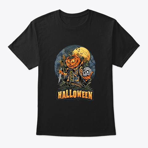 Halloween 2021 Black T-Shirt Front