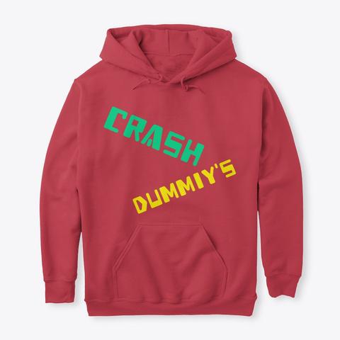 Crash Dummiy A We So Me Cardinal Red áo T-Shirt Front