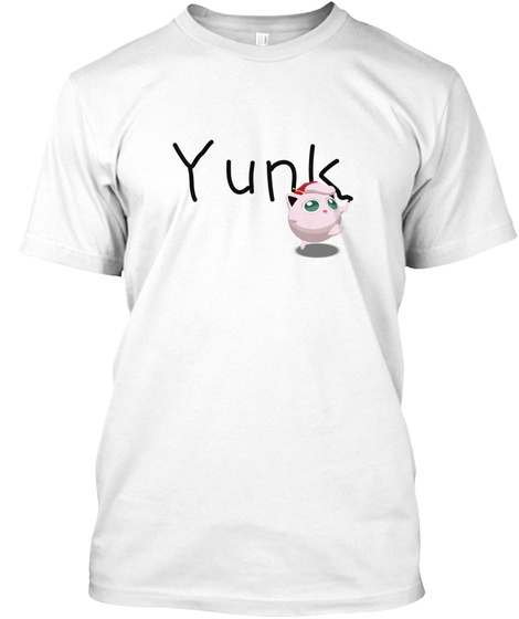 Yunksong White T-Shirt Front