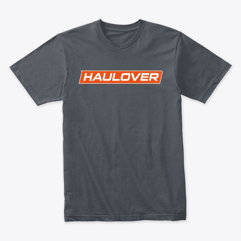 Haulover Boats Banner Heavy Metal T-Shirt Front
