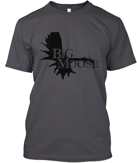 Big Moose Entertainment   Music Asphalt T-Shirt Front