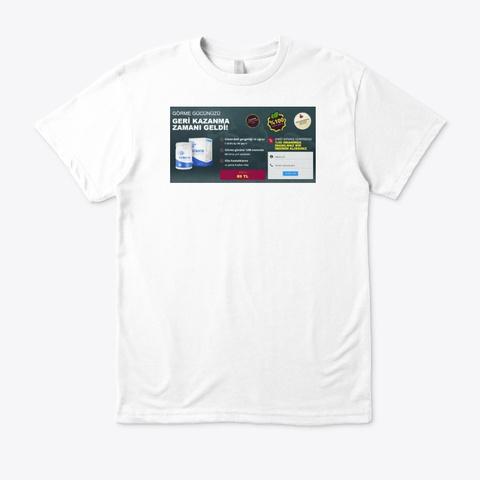Fatimatin White T-Shirt Front