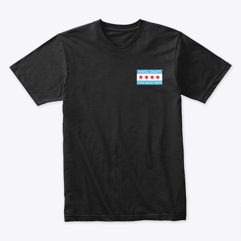 Chicago L134 Draft Shirt Black T-Shirt Front