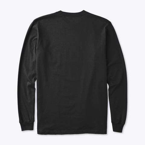 Speed Of Patience Black T-Shirt Back