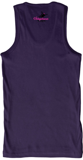 Voluptuous Vixen Team Purple Tank Top Back