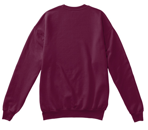 Quitan   Charity Holiday Edition Maroon  Felpa Back