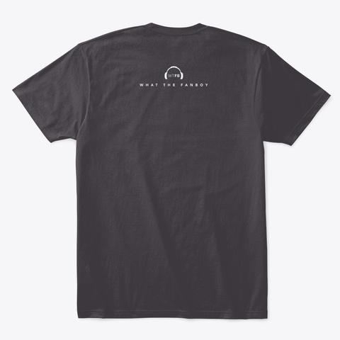 Ratings Heathered Charcoal  T-Shirt Back