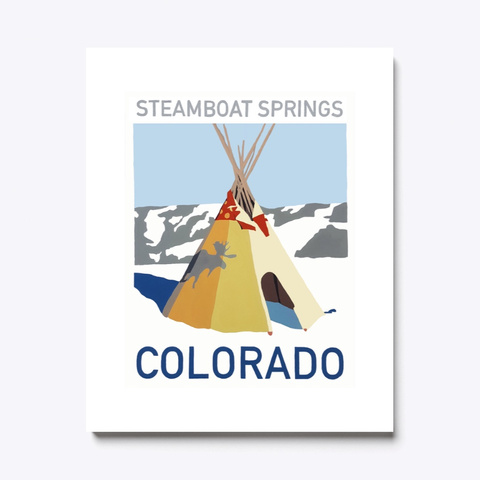 Steamboat Springs Standard T-Shirt Front