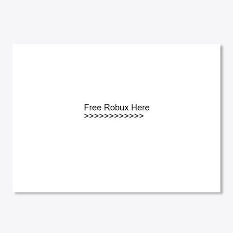 #Free Robux# {Unlimited & Real} 2020 White T-Shirt Front