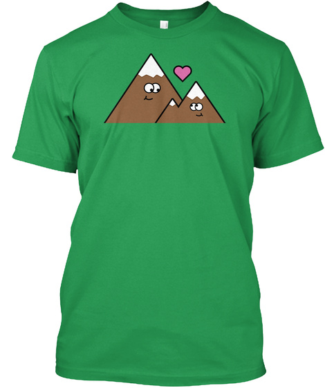 Mountain Guys Kelly Green T-Shirt Front