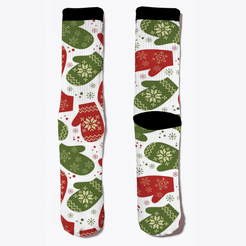 Christmas Socks Standard T-Shirt Front