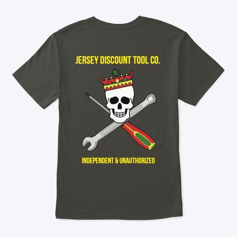Jdt Co. Standard Smoke Gray T-Shirt Back