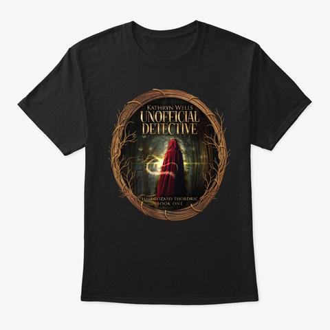 Unofficial Detective Black T-Shirt Front
