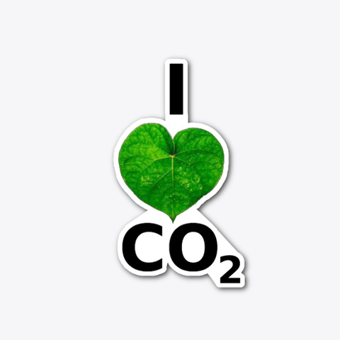 I Love Co2 Standard T-Shirt Front